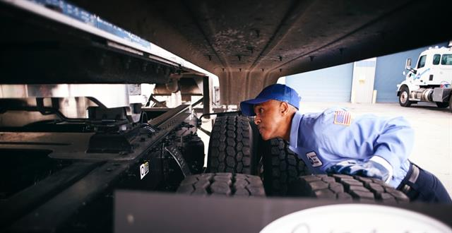 Now that fleets only have to have a driver vehicle inspection report form when a defect has occurred, it is much easier for safety auditors to see when drivers are and aren't doing their job when it comes to pre-trips. Photo: Dupre Logistics