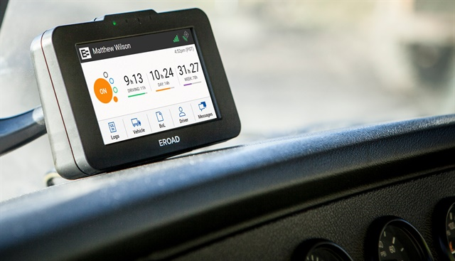 One ELD provider, Eroad, is using a third-party verification program to help give customers peace of mind. Photo: Eroad