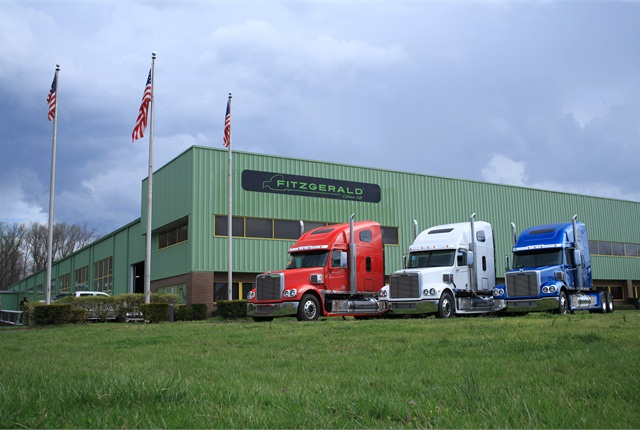 In its two factories in east Tennessee, Fitzgerald last year assembled about 1,200 gliders, most of them Freightliners. Many were sleeper-equipped Coronado tractors, early models that can take the popular 12.7-liter Detroit Series 60.