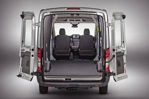 The full-size Transit will gradually replace the popular and long-running E-series when the new-to-North America Euro-style van goes into production at Fords refitted Kansas City, Mo., plant late in 2013.