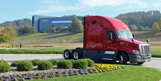 U.S. Xpress is one fleet using the Pit Group's fuel economy testing services. Photo: Jack Roberts
