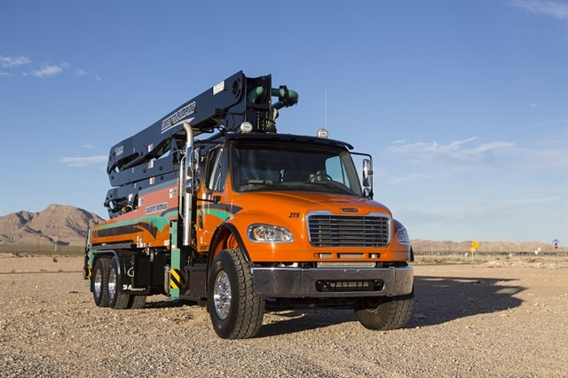 Freightliner recently added to its medium-duty vocational power offerings with the launch of the new DD8 diesel engine. Photo: Freightliner