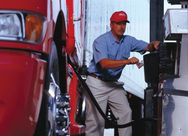 "Fleets vary in how much leeway they give drivers using fuel cards. ""Some want the card wide open, to increase driver-friendliness,"" says Comdata's Randy Morgan, ""while others will lock the cards down"" in various ways. Photo: PacLease"