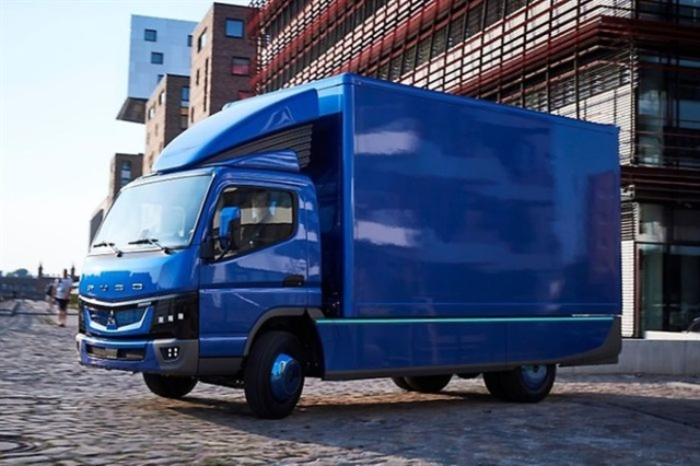 Mitsubishi Fuso Truck of America describes the powertrain of the new eCanter as virtually maintenance-free compared to existing diesel trucks. Photo: Mitsubishi Fuso