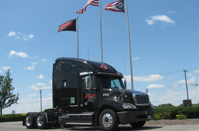 Garner Trucking is testing dual-fuel (CNG-diesel) glider kits, burns drain oil for shop heat and recycles coolant.