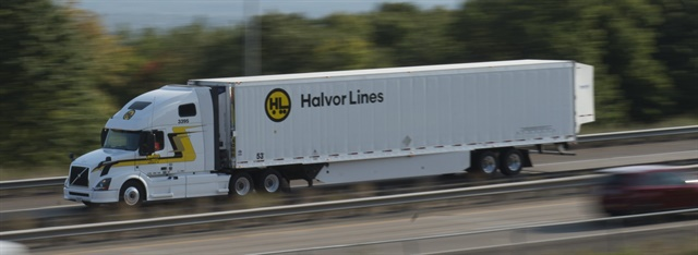 "Halvor Lines has gone with full aero packages, and has added ultracapacitor start units to preserve batteries to support ""hotel"" loads."