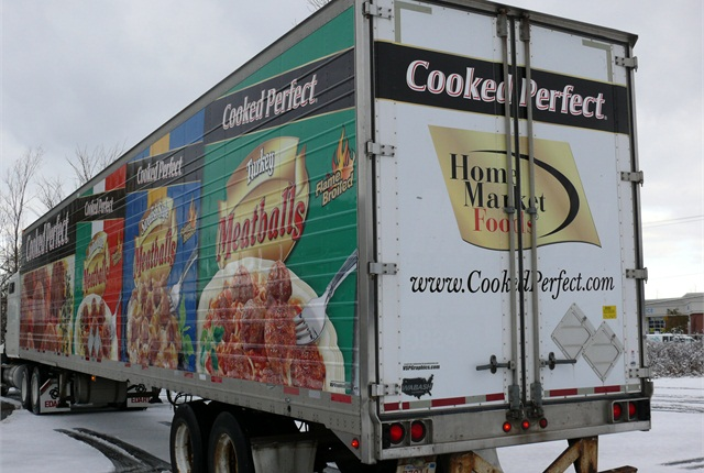 Installing vinyl graphics on your trailer transform your trailer into a rolling billboard for your business.