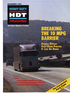 HDT editors put Sliwa's first creation on the cover of their November 1984 edition.