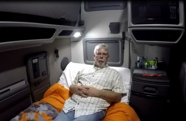 The recliner mattress is a nice feature for after-hours relaxation. Interior tweaks to the sleeper give it a more spacious look.