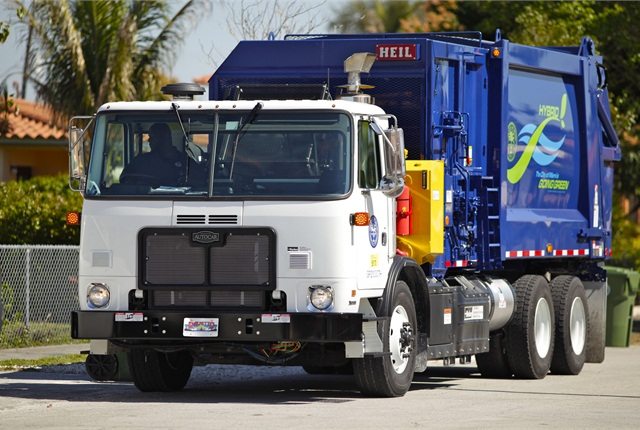 Hydraulic hybrid drive systems can cut fuel consumption and dramatically improve brake life for refuse fleets.