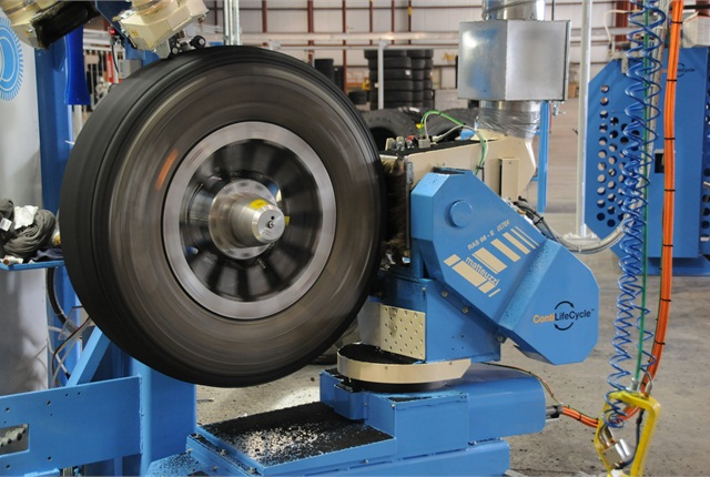 Modern machines have tighter tolerances and can buff right down to the millimeter to get the best tread fit.