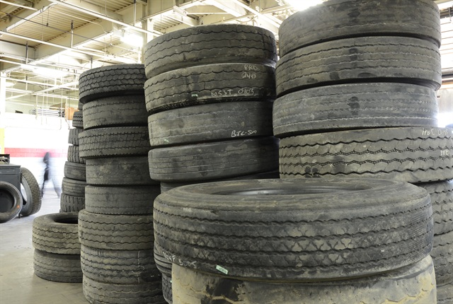 Carrying tire inventory costs money and space. Outsourcing is like just-in-time tire inventory. And you only pay for a tire when you use it.