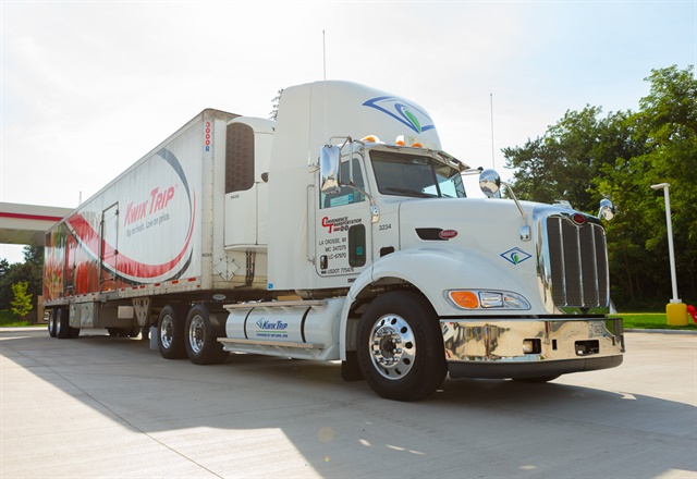 Many of Kwik Trip's heavy- and medium-duty trucks run on the alternative fuels it sells at its filling stations in the Midwest.