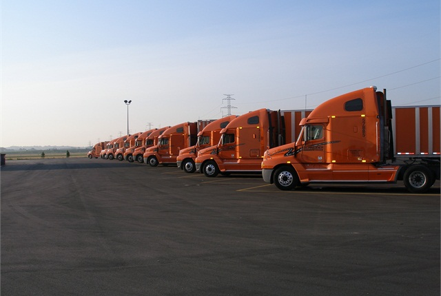 When Schneider National's tractors are taken out of road service, they're prepped for sale to smaller fleets and owner-operators. Last year Schneider sold about 2,400 tractors, mostly Freightliner's Century Class, from 18 locations around the U.S. and Canada.