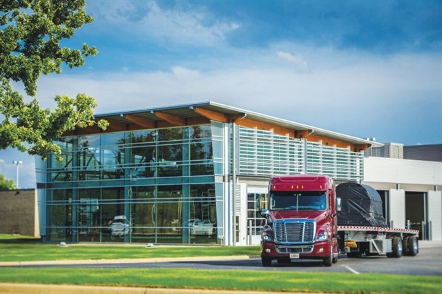 Maverick last year completed a $4 million expansion of its training center. Photo: Maverick Transportation
