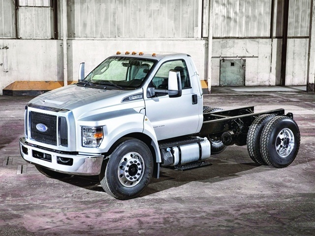 Medium-Duty Trucks, such as the Ford F-650 Chassis Cab, continue to have stable operating costs. (PHOTO: FORD)