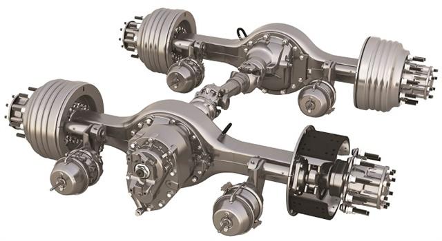 Meritor 14X HE high-efficiency tandem axle