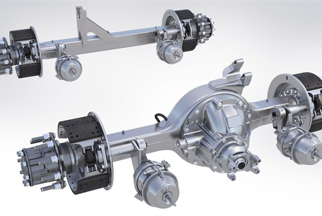 Meritor's FueLite tandem is one of the newer 6x2 product offerings.