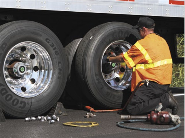"""Due to consistently lower diesel prices, many fleets are asking for tires that offer long tread wear and enhanced traction,"" says Brian Buckham at Goodyear."