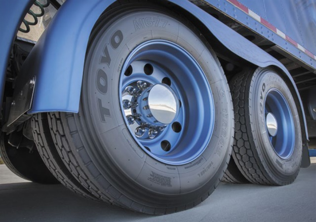 "About the tariff ruling, Toyo's Mike Graber says, ""It is too early to predict the impact. It is also a possibility that tariffs or duties on truck tires could be revisited by authorities at some point in the future."""