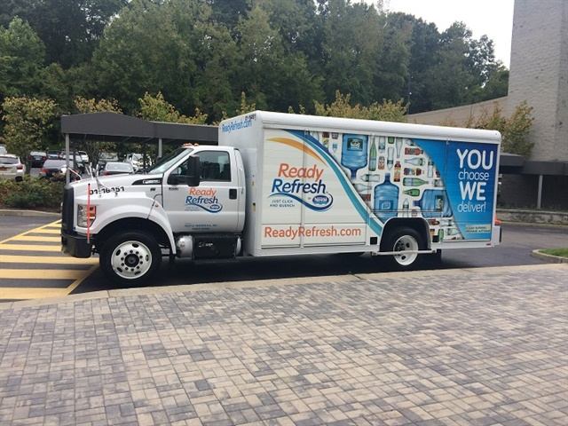 Nestle Waters says it has the largest propane-powered, Class 6-7 beverage delivery fleet in the world.