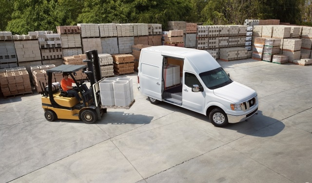 Although it shares many of the same traits as Euro-style vans, Nissan's NV series uses a body-on-frame construction. (Photo courtesy of Nissan North America)