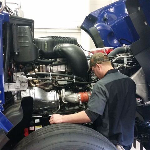 Consider outsourcing more complicated work such as engine repairs to better manage the throughput in your own shop. Photo: Joe Laux