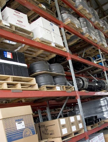 Using VMRS codes for parts can help fleets determine which items should be kept in fleet inventory and which should be procured only when needed. HDT File Photo