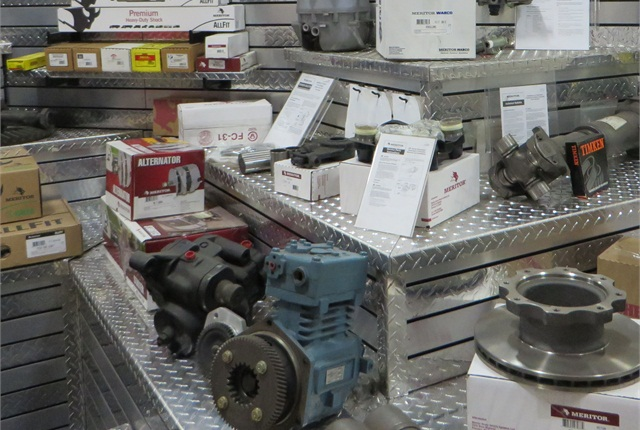 Meritor offers a wide variety of undercarriage and drivetrain components. The company says it is seeing an increase in private label requests from both OEMs and heavy-duty marketing groups.
