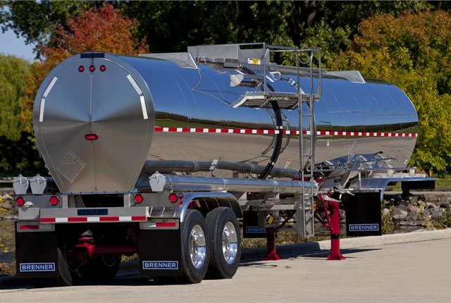 Wabash National's The Walker Group says that there is a move to make liquid tank trailers lighter and more fuel-efficient.
