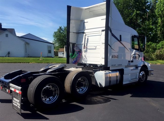 Volvo's Adaptive Loading 6x2 setup works well when there is a high concentration of lightweight freight.