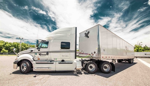 Raven Transport is running more than 200 trucks on liquefied natural gas.