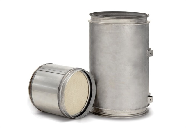 Stringent tolerances and finishes are needed for components such as diesel particulate filters. Photo: Detroit Reman