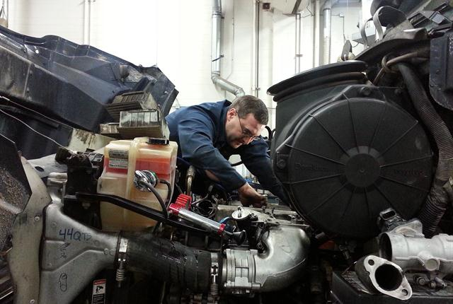 Drivers need to be trained to distinguish when a fault code means the truck needs to be brought in immediately and when it is okay to wait for the next scheduled maintenanceappointment.