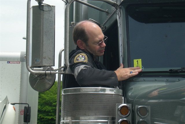 The scoring in the system is based on roadside inspections, violations listed on roadside inspection reports, and crash reports.