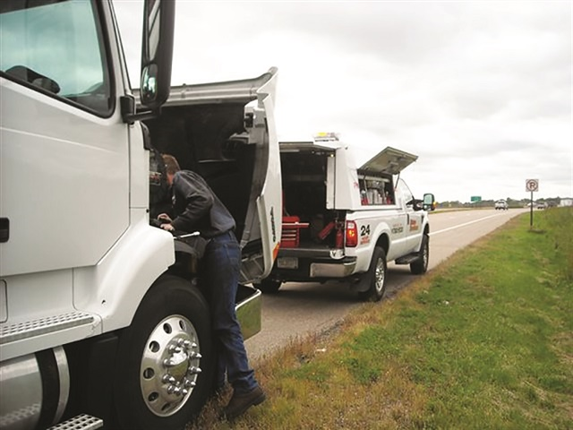Choosing a service provider before a breakdown occurs allows them to operate more efficiently during a breakdown. Photo: FleetNet America