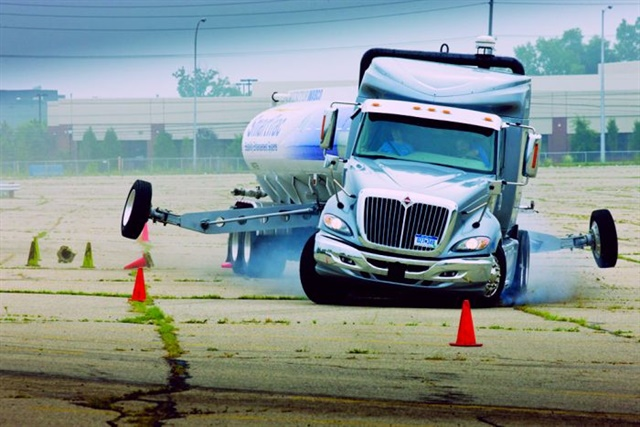 Roll stability control is an example of how safety systems build on other technologies.