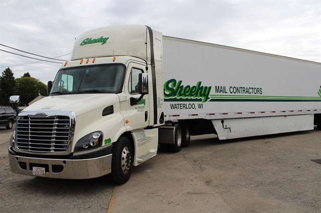 Sheehy Mail Contractors has led the charge to develop compressed natural gas fuel strategies for U.S. Mail contractors.