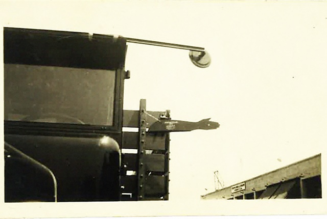The patented signal arm that helped launch the Phillips business. Photo: Phillips Industries