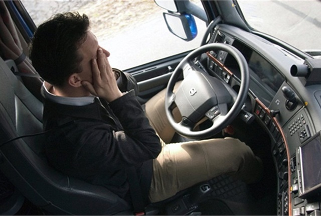 News reports on the Trump adminstration's move to halt a sleep apnea rule for truck drivers were mostly negative in their coverage. Photo: Volvo Group