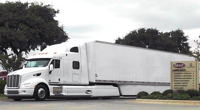 Kaufman cited the SuperTruck, a project being done with the Department of Energy by Peterbilt, Cummins, Eaton and other partners, talking about powertrain technologies coming down the road.