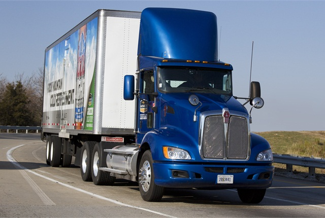 Monarch's highway tractorslike this Kenworth T660 run enoughmiles to pay off the investment in CNG equipment within three years, according to the fleet's calculations.