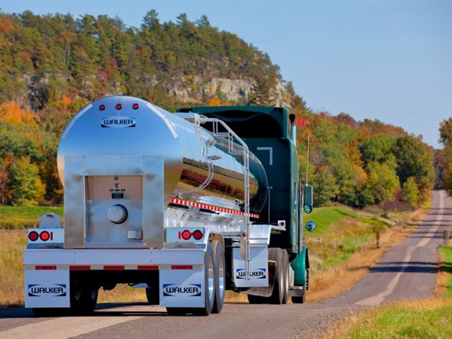 Roll stability control, air disc brakes, lightweight components and corrosion-resistant metals are all common on today's tank trailers, says Wabash, which offers several tank trailer brands. Photo: Wabash