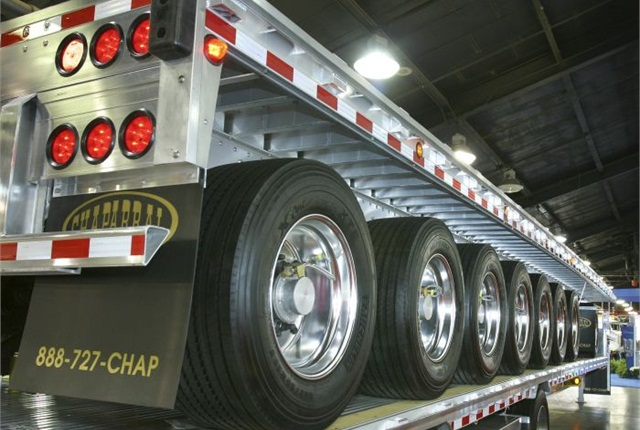 With all that rubber on the road, under-inflated tires can be an expensive proposition.