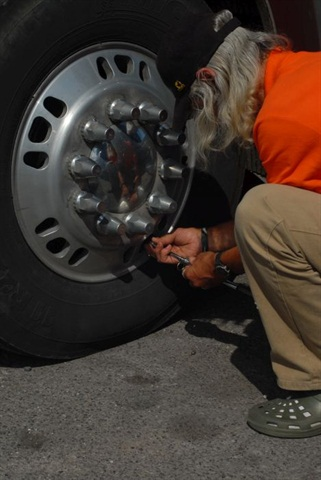 Watch for drivers who deflate steer tires to 90 psi thinking it will provide a smoother ride.