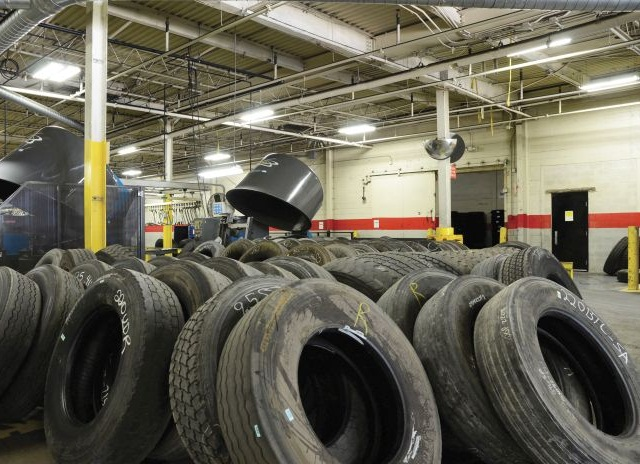 By the time a tire gets to the retreader, its unit number and wheel position information may be lost forever. It's best to inspect the tire as it comes off the truck.