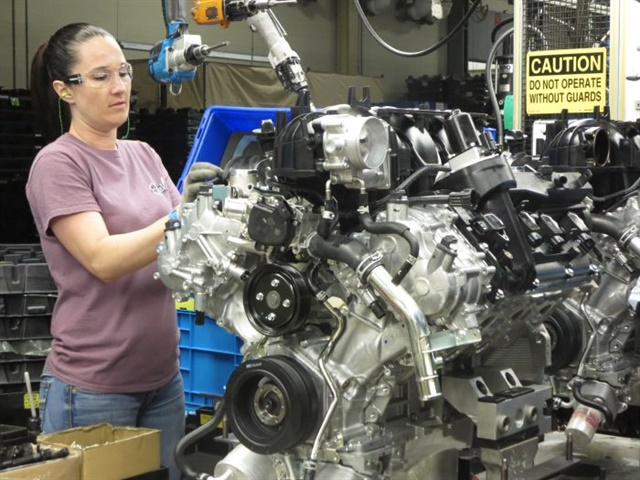 This year, Nissan's powertrain plant in Decherd, Tenn., will assemble about 1.4 million engines, including this 5.6-liter Endurance V-8.