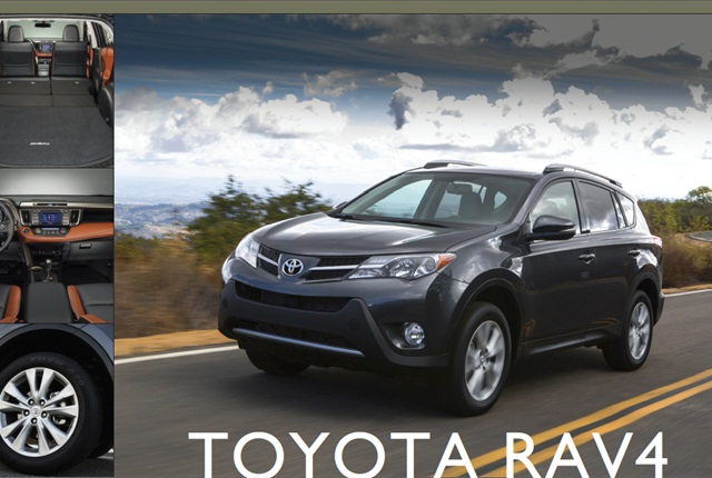 The 2013-My Toyota RAV4.
