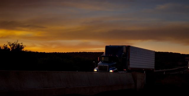 For maximum productivity, some fleets can run trucks a second shift. HDT file photo by Ed Alfaro