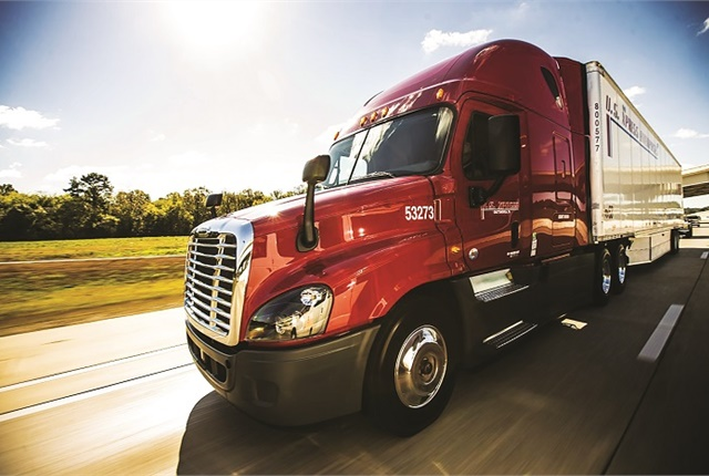 One of seven fleets to participate in the North American Council for Freight Efficiency's Run on Less fuel-efficiency run in September, U.S. Press is continuously evaluating new technologies.